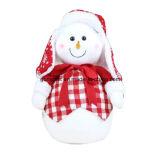 Украшение стеклянного снеговика рождества типа Европ крытое