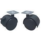 Высокое качество 40mm с колесом рицинуса стула мебели пролома