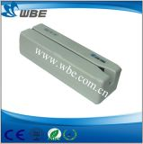 Leitor de cartão magnético do USB Hi/Lo-Co das trilhas duplas/escritor portuários