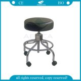 AG-Ns001 Hot Sale Stainless Steel Adjustable Black Nurse Chair