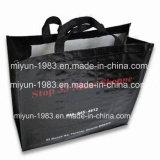 Sacchetti di acquisto di plastica di nylon tessuti Baghand del cliente dei pp