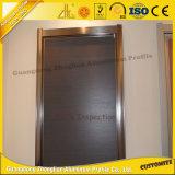 Alumínio Liga de alumínio porta deslizante para decoração de móveis modernos