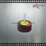 Rouleau / roue à lamelles en lingot à oxyde d'aluminium pour acier inoxydable
