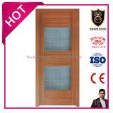 Portes en plastique de Toliet d'affaires de porte intérieure de PVC de modèle de l'Europe pour la salle de bains