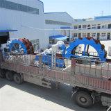 Machine à laveuse à sable avec cyclones pour l'exploitation minière