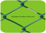 Recinzione della rete metallica di collegamento Chain/rete metallica galvanizzate ricoperte PE del diamante