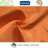 Полиэфир 100% глянцеватое мягкое 290t упрощает поставщика ткани куртки ткани тафты вниз