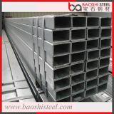 REG galvanizado en caliente de tubos de acero rectangulares