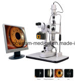 Microscope Poweam Digital Slit Lamp avec table motorisée (J8D)