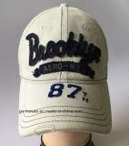 помытый способом шлем бейсбола 100%Cotton с применением Emb на передней панели (LY045)