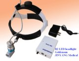 재충전용 휴대용 의학 Ent 맨 위 램프 LED