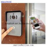 Камера двери дверного звонока CCTV домашняя WiFi IP цифров APP обеспеченностью франтовская беспроволочная электронная видео-