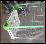 플라스틱은 쇼핑 트롤리 손수레 정면 광고 격판덮개 널을 분해한다
