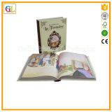 Impresión a todo color del libro del Hardcover de encargo