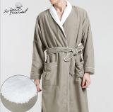Peignoir et pyjamas cinq étoiles Fatory de coton de face de double d'hôtel de qualité