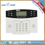 2017 Sistema di allarme senza fili caldo Mobile Call GSM con display a cristalli liquidi GSM sistema di allarme