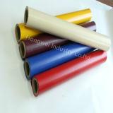 La tela revestida del poliester del PVC de las ventas calientes para tiende