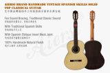 Chitarra classica superiore solida di abilità spagnole