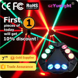 Guangzhou Baiyun District Hot Sale 9PCS 12W RGBW 4in1 CREE Infinite Rotating LED Spider Beam tête mobile avec Ce RoHS