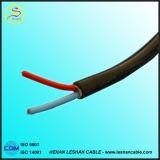 2 coeurs 2.5mm câble plat flexible en PVC