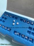 Corchetes de cerámica de la base ortodóntica del acoplamiento
