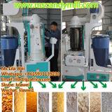 máquina de trituração do milho 50t/24h instalada em África para a refeição super do milho