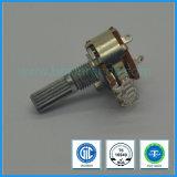 potenziometro rotativo di 16mm con l'interruttore per l'amplificatore del miscelatore