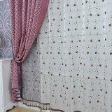 Classique Hôtel Chenille Jacquard Blackout Curtain Tissu