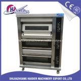Oven van het Dek van de Apparatuur van de bakkerij de Elektro 3 Lagen met Stoom