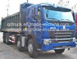 Carro de volquete usado Shacman del descargador de Sinotruck HOWO Dongfeng JAC Beiben