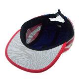 Custom синий/белый Red Hat Ployester Camper винты с высшим пять панели Fashion Red Hat