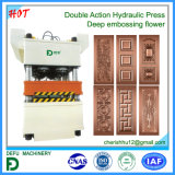 Double machine de presse de Hysraulic d'action