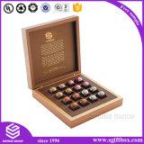 Corte láser de la boda de diseño de Papel Caja de bombones de chocolate