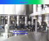 ペットびんの蒸留水の充填機