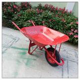 Carrinho de mão de roda inoxidável da bandeja (Wb6201)