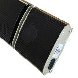De caldera a gas mejor calentador de Patio de la pirámide con altavoces Bluetooth