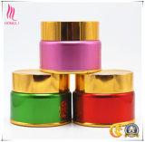 Cuidado de Piel de alta gama de aluminio de la botella de tarros de crema 50ML 100ml
