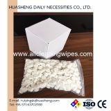500PCS GezichtsWeefsel van de Handdoek van het Muntstuk van het Pak van de doos het Antibacteriële Samengeperste