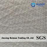 прибытие 2016new--ткань сетки трика Spandex жаккарда 80.2%Nylon 19.8%Spandex 130cm