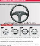 De hittebestendige Dekking van het Handvat van het Stuurwiel van de Auto van pvc van de Bevordering van het Silicone