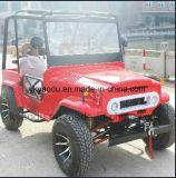Mini jeep rouge pour des sports d'adultes avec du ce