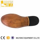 Из натуральной кожи черного цвета Goodyear легкий вес военного управления обувь