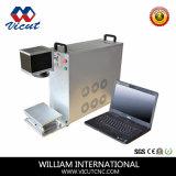 10W金属のための自動ファイバーレーザーのマーキング機械