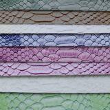 Cuir à la mode gravé en relief de sac d'unité centrale de serpent (YB020)