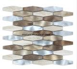 アルミニウムモザイク・タイル石造りのMatelは装飾の台所Backsplashの浴室の壁のタイルAashrb2201をタイルを張る