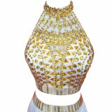 Elegantes bördelndes Abschlussball-Kleid-Partei-Kleid des Nixe-lange Abend-Kleid-2017 preiswertes