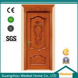 Portas interiores de madeira com frame de porta