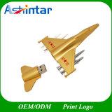 Lecteur flash USB d'avion modèle de rabot en métal d'USB Thumbdrive
