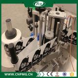 Máquina automática de etiquetado de etiquetas adhesivas con dos etiquetas