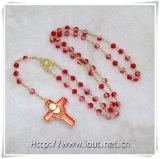 rosario dei branelli di 6mm/rosario dei branelli/collana cattolica all'ingrosso del rosario/rosario cattolico con il centro (IO-cr401)